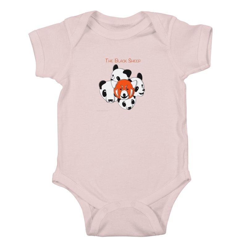 The Black Sheep Kids Baby Bodysuit by Every Drop's An Idea's Artist Shop