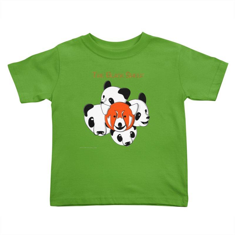 The Black Sheep Kids Toddler T-Shirt by Every Drop's An Idea's Artist Shop