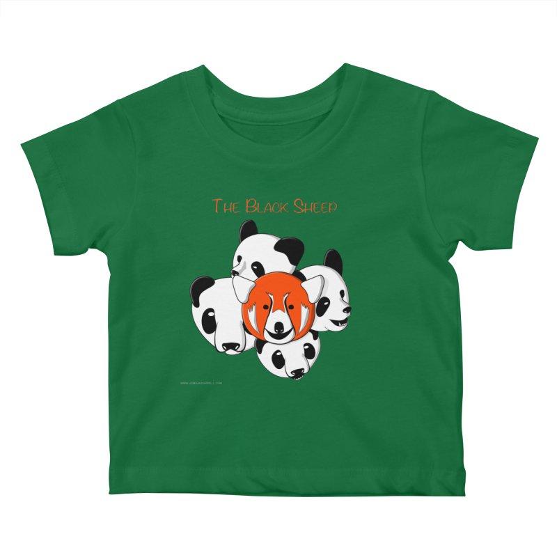 The Black Sheep Kids Baby T-Shirt by Every Drop's An Idea's Artist Shop
