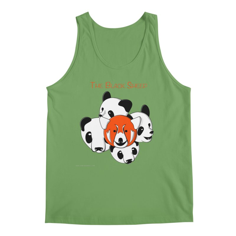 The Black Sheep Men's Tank by Every Drop's An Idea's Artist Shop