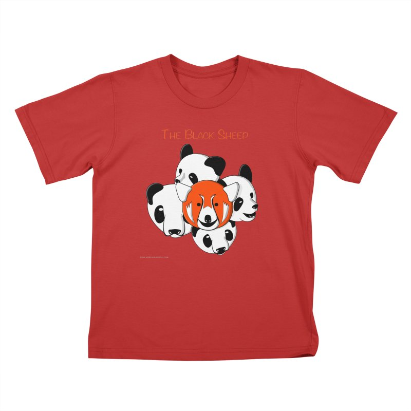 The Black Sheep Kids T-Shirt by Every Drop's An Idea's Artist Shop