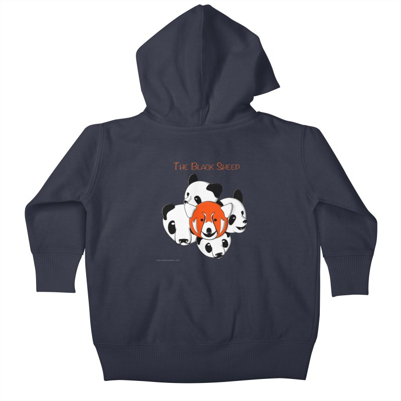 The Black Sheep Kids Baby Zip-Up Hoody by Every Drop's An Idea's Artist Shop