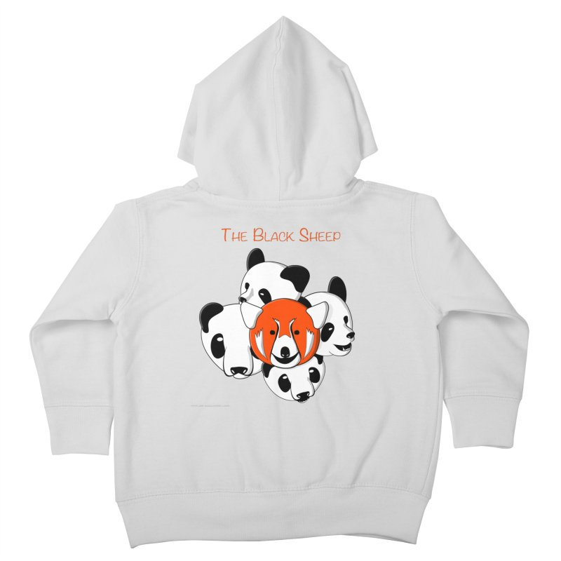 The Black Sheep Kids Toddler Zip-Up Hoody by Every Drop's An Idea's Artist Shop