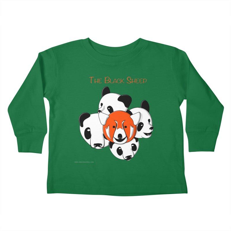 The Black Sheep Kids Toddler Longsleeve T-Shirt by Every Drop's An Idea's Artist Shop