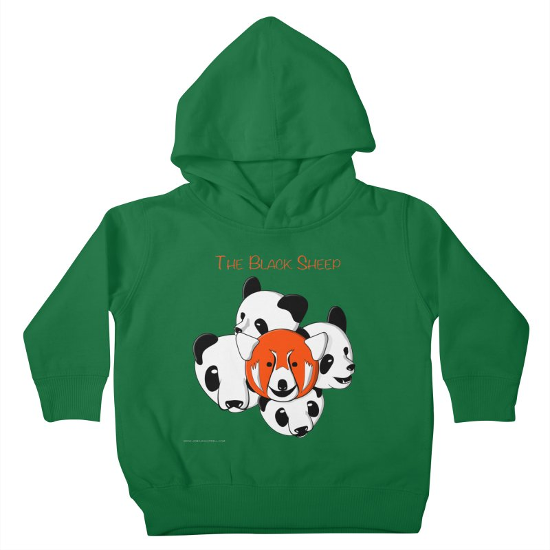 The Black Sheep Kids Toddler Pullover Hoody by Every Drop's An Idea's Artist Shop