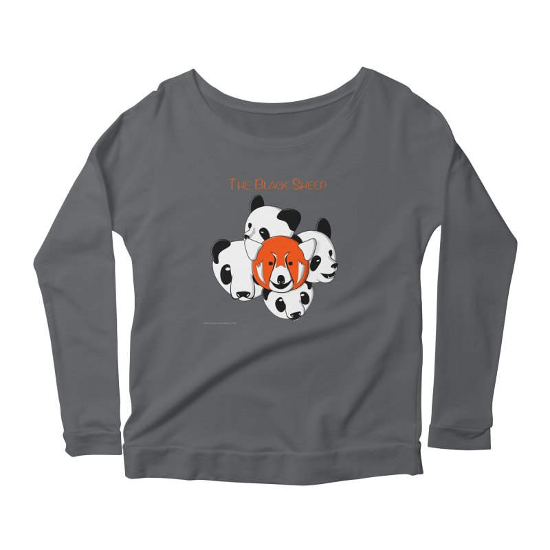 The Black Sheep Women's Longsleeve T-Shirt by Every Drop's An Idea's Artist Shop