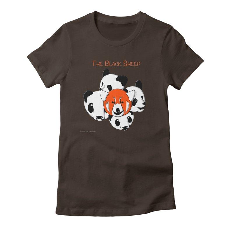 The Black Sheep Women's T-Shirt by Every Drop's An Idea's Artist Shop