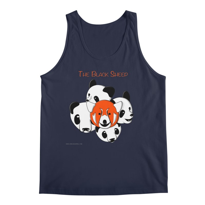 The Black Sheep Men's Regular Tank by Every Drop's An Idea's Artist Shop