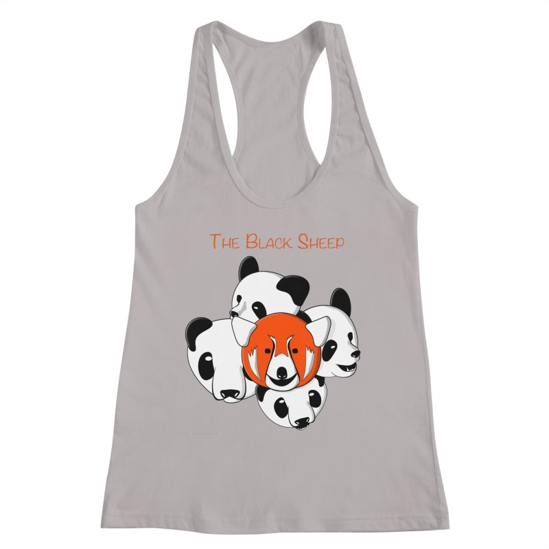 The Black Sheep Women's Racerback Tank by Every Drop's An Idea's Artist Shop