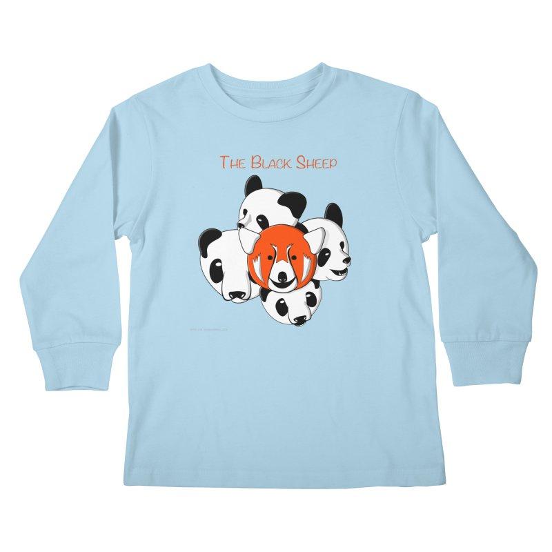 The Black Sheep Kids Longsleeve T-Shirt by Every Drop's An Idea's Artist Shop