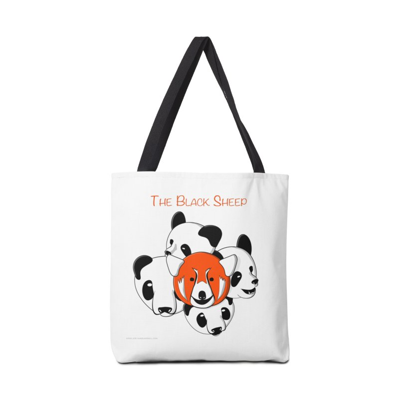 The Black Sheep Accessories Tote Bag Bag by Every Drop's An Idea's Artist Shop