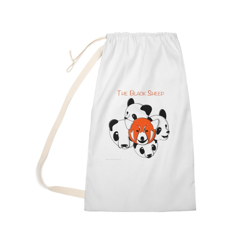 The Black Sheep Accessories Laundry Bag Bag by Every Drop's An Idea's Artist Shop