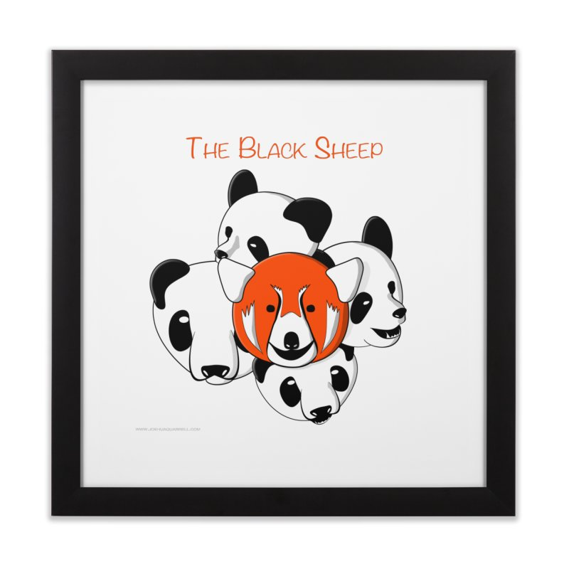 The Black Sheep Home Framed Fine Art Print by Every Drop's An Idea's Artist Shop