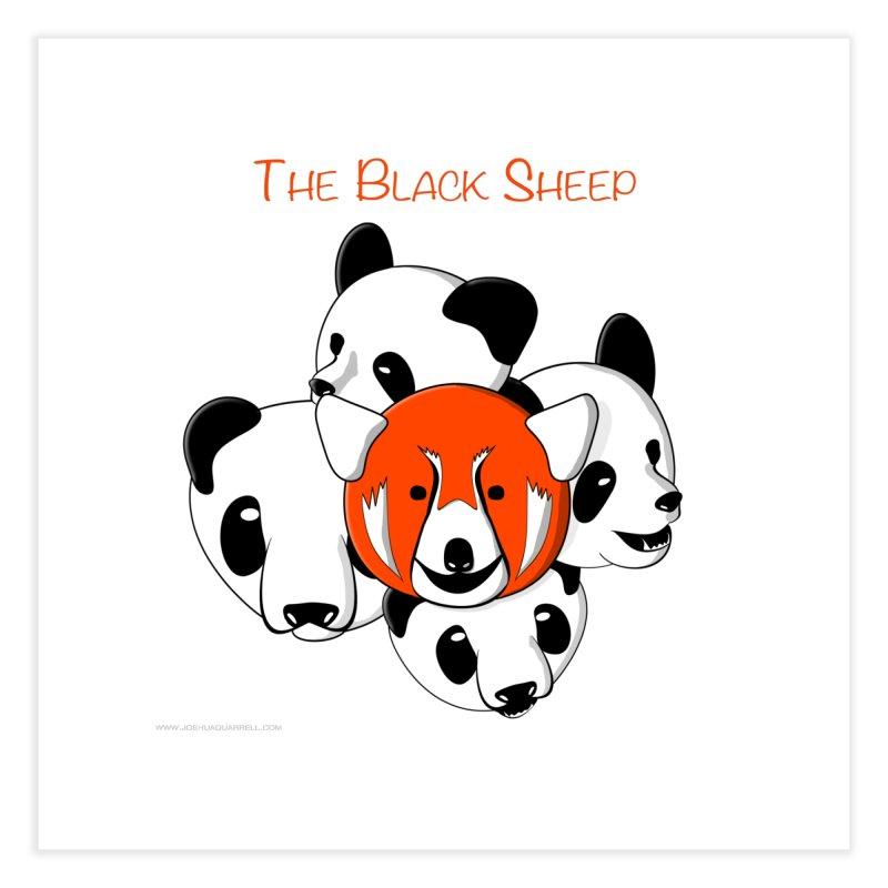 The Black Sheep Home Fine Art Print by Every Drop's An Idea's Artist Shop