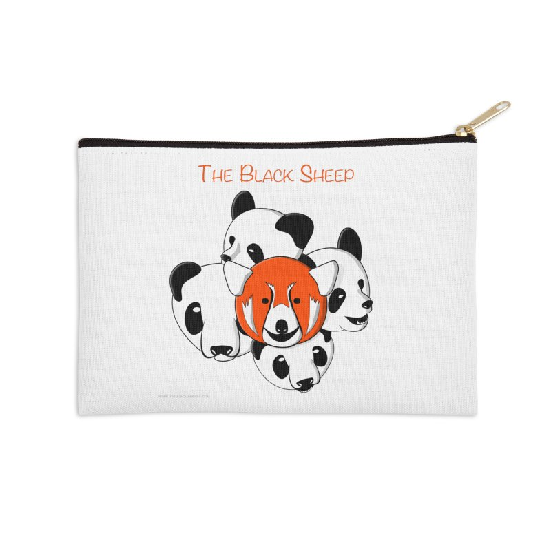 The Black Sheep Accessories Zip Pouch by Every Drop's An Idea's Artist Shop