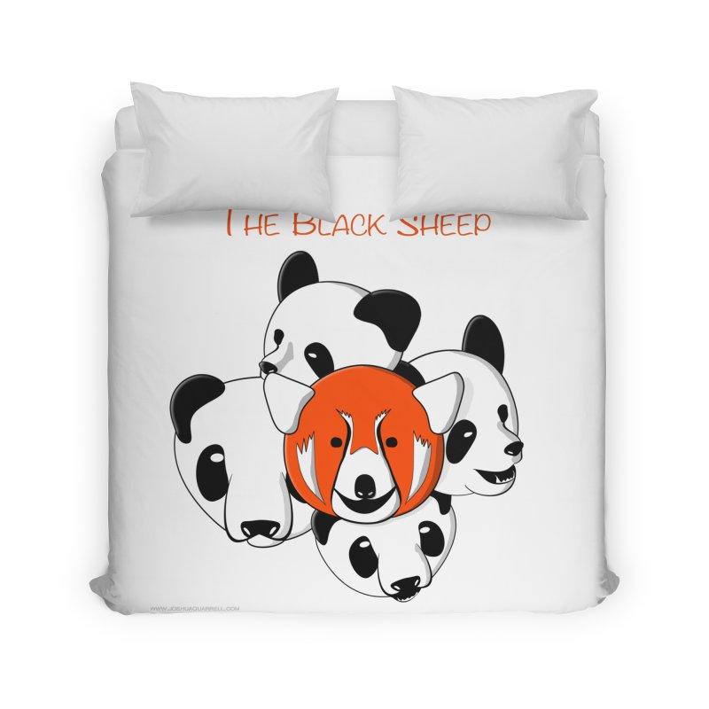 The Black Sheep Home Duvet by Every Drop's An Idea's Artist Shop