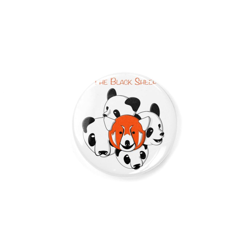 The Black Sheep Accessories Button by Every Drop's An Idea's Artist Shop