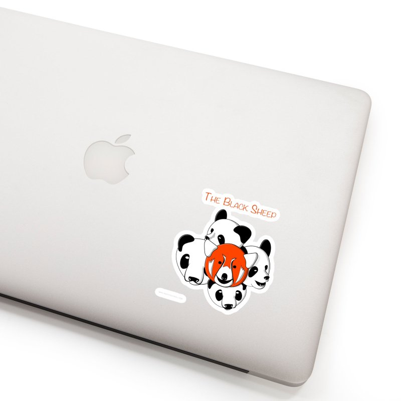 The Black Sheep Accessories Sticker by Every Drop's An Idea's Artist Shop