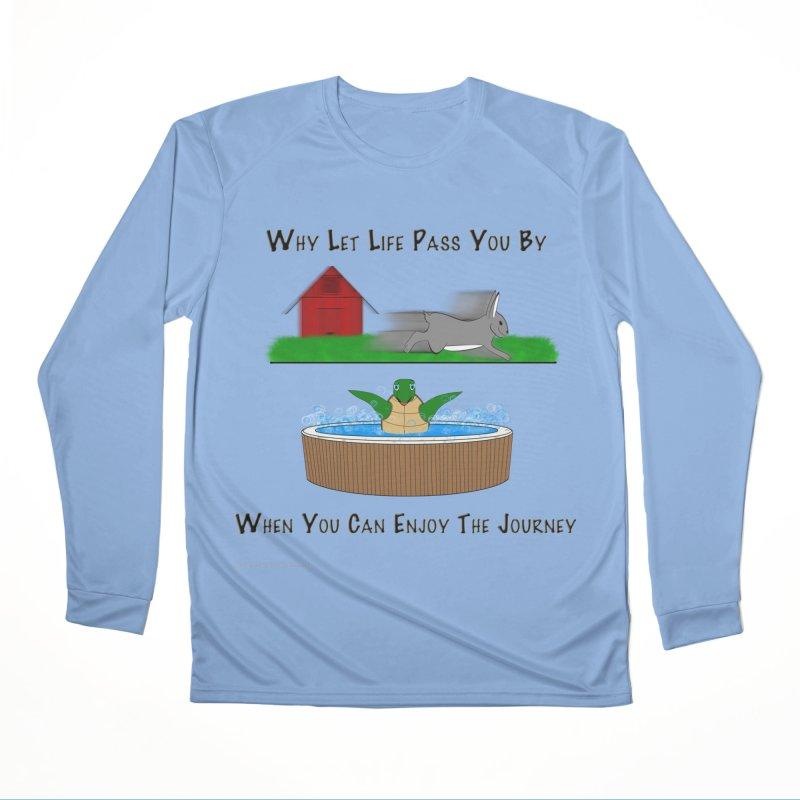 It's About The Journey Men's Performance Longsleeve T-Shirt by Every Drop's An Idea's Artist Shop