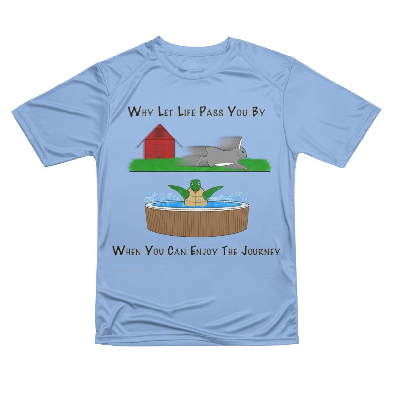 It's About The Journey Women's T-Shirt by Every Drop's An Idea's Artist Shop