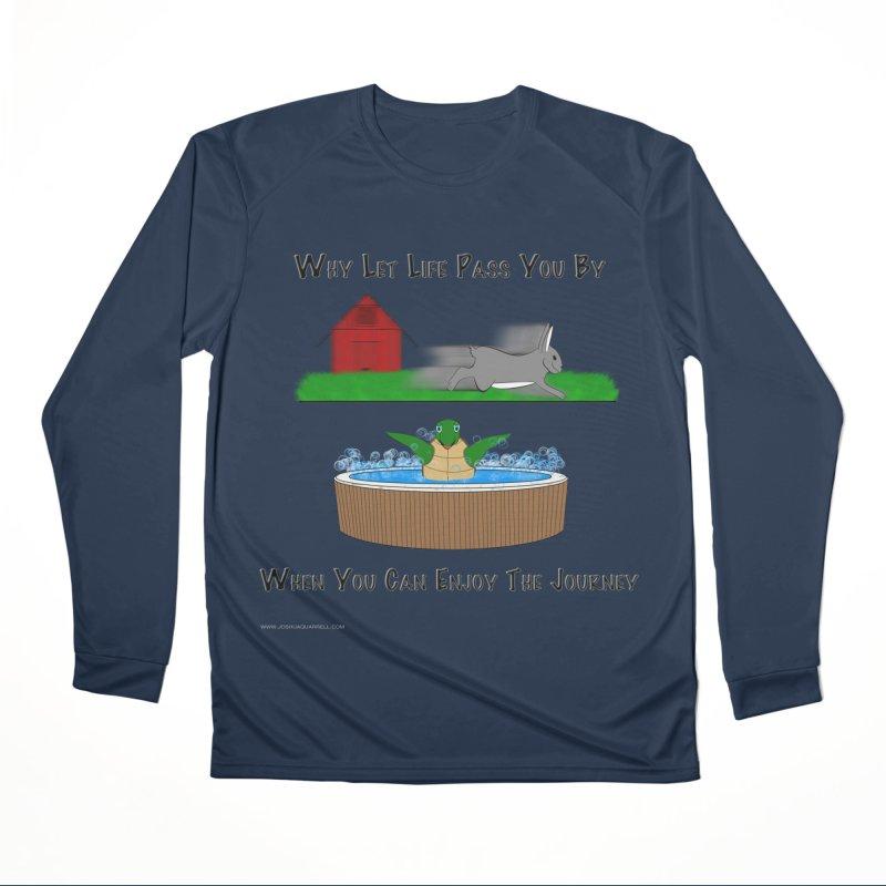 It's About The Journey Women's Performance Unisex Longsleeve T-Shirt by Every Drop's An Idea's Artist Shop