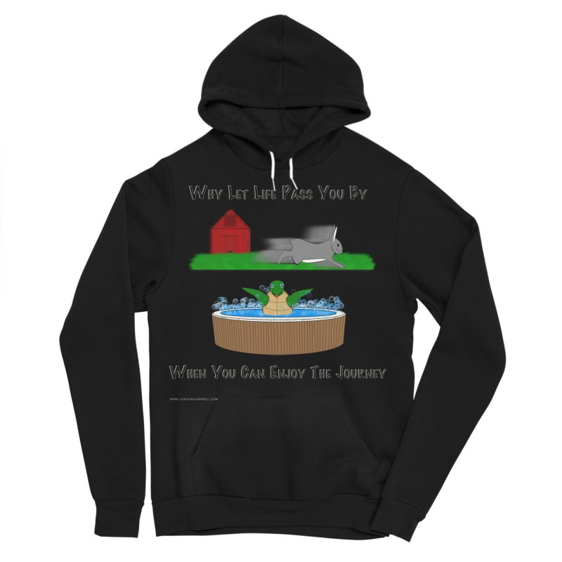 It's About The Journey Men's Sponge Fleece Pullover Hoody by Every Drop's An Idea's Artist Shop