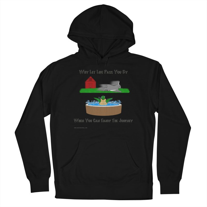 It's About The Journey Women's French Terry Pullover Hoody by Every Drop's An Idea's Artist Shop