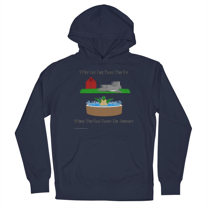 It's About The Journey Men's Pullover Hoody by Every Drop's An Idea's Artist Shop