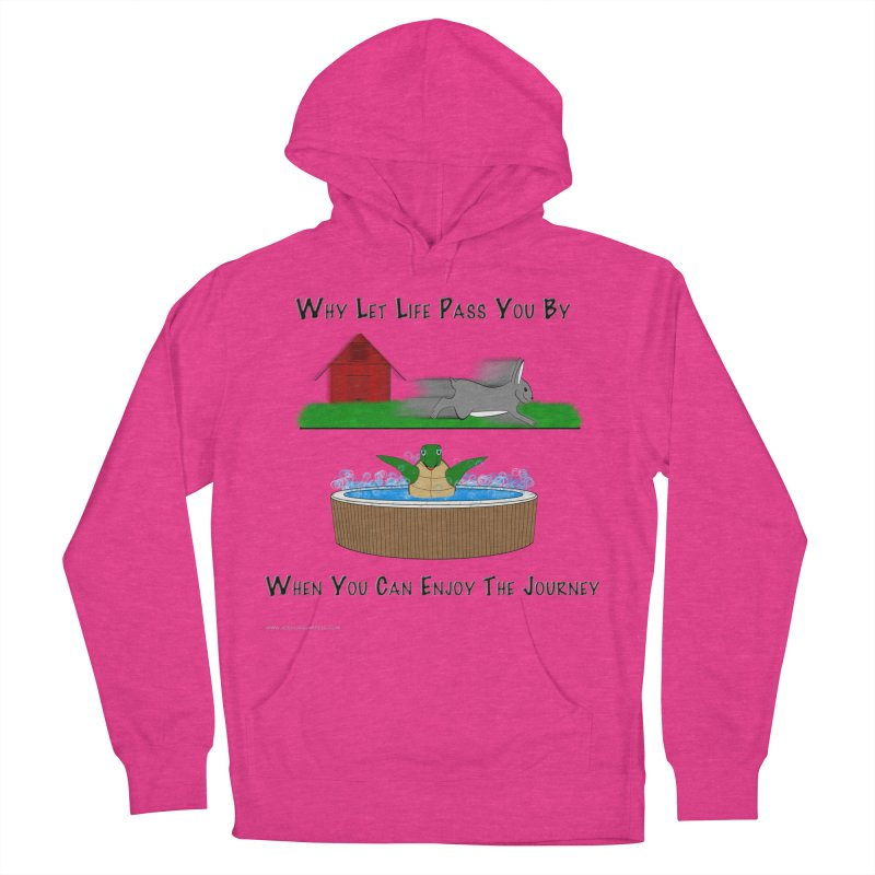 It's About The Journey Women's Pullover Hoody by Every Drop's An Idea's Artist Shop