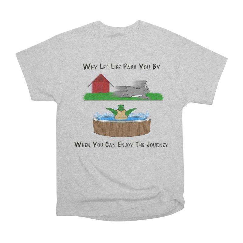 It's About The Journey Women's Heavyweight Unisex T-Shirt by Every Drop's An Idea's Artist Shop