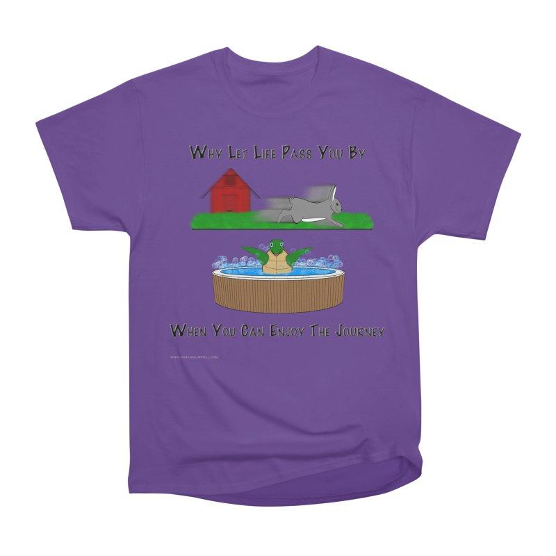 It's About The Journey Men's Heavyweight T-Shirt by Every Drop's An Idea's Artist Shop