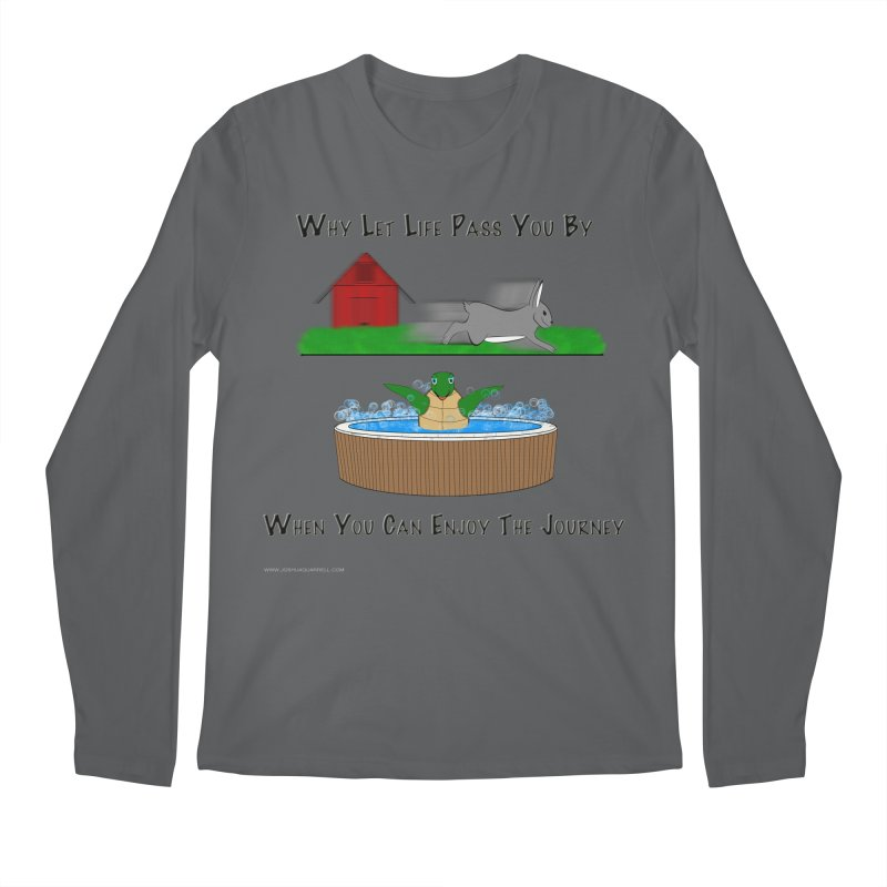 It's About The Journey Men's Regular Longsleeve T-Shirt by Every Drop's An Idea's Artist Shop