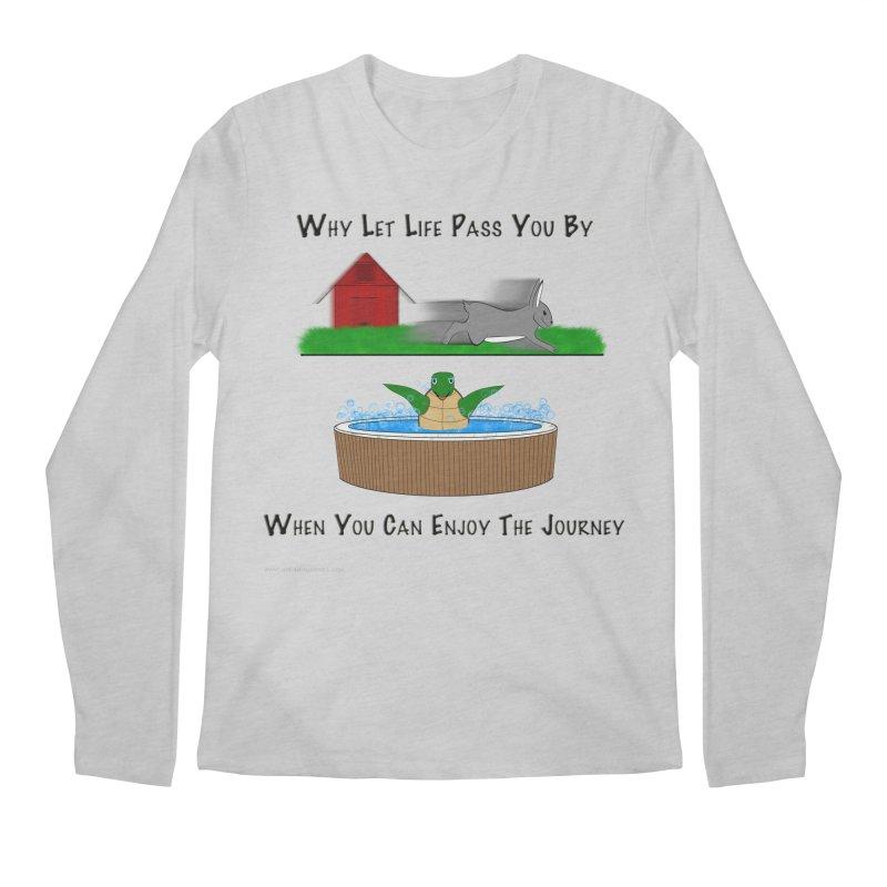 It's About The Journey Men's Regular Longsleeve T-Shirt by Every Drop's An Idea's Artist Shop