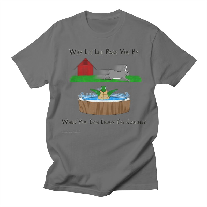 It's About The Journey Men's T-Shirt by Every Drop's An Idea's Artist Shop