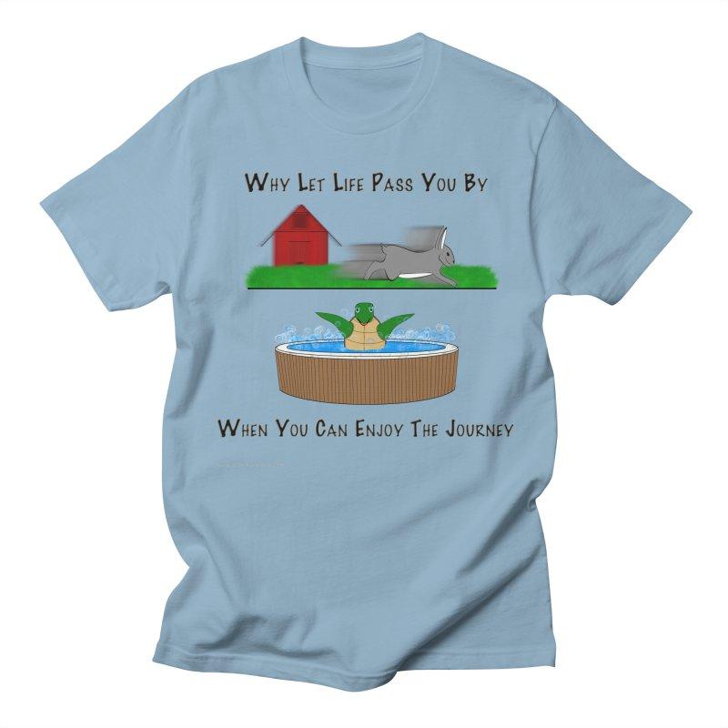 It's About The Journey Men's Regular T-Shirt by Every Drop's An Idea's Artist Shop