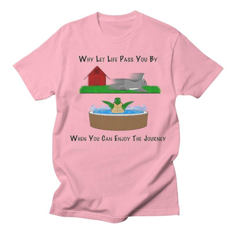 It's About The Journey Women's Regular Unisex T-Shirt by Every Drop's An Idea's Artist Shop