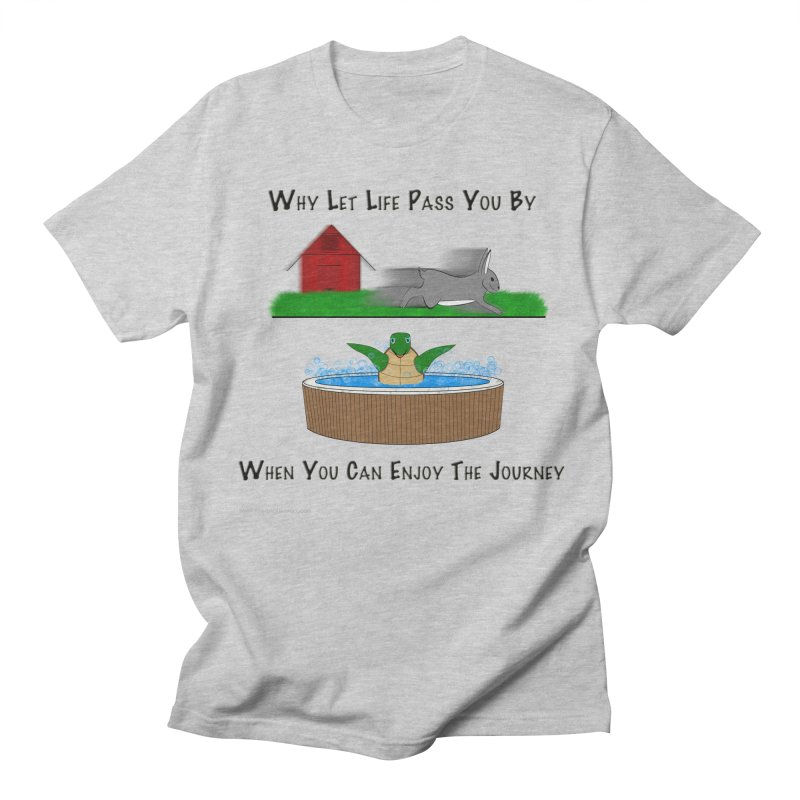 It's About The Journey Men's Regular T-Shirt by Every Drop's An Idea's Artist Shop