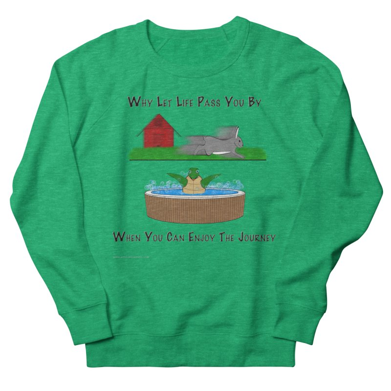 It's About The Journey Women's Sweatshirt by Every Drop's An Idea's Artist Shop