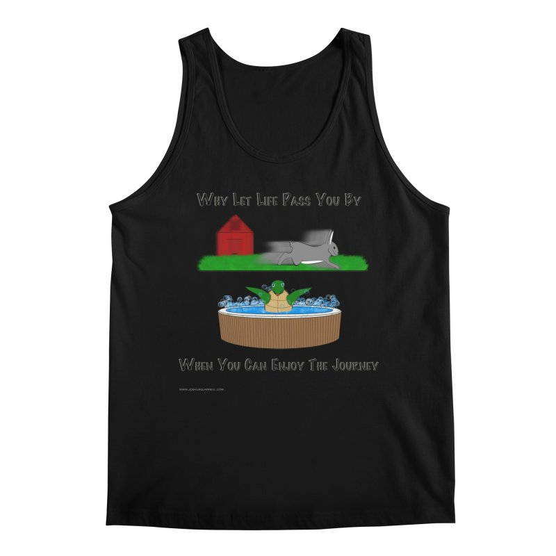 It's About The Journey Men's Regular Tank by Every Drop's An Idea's Artist Shop