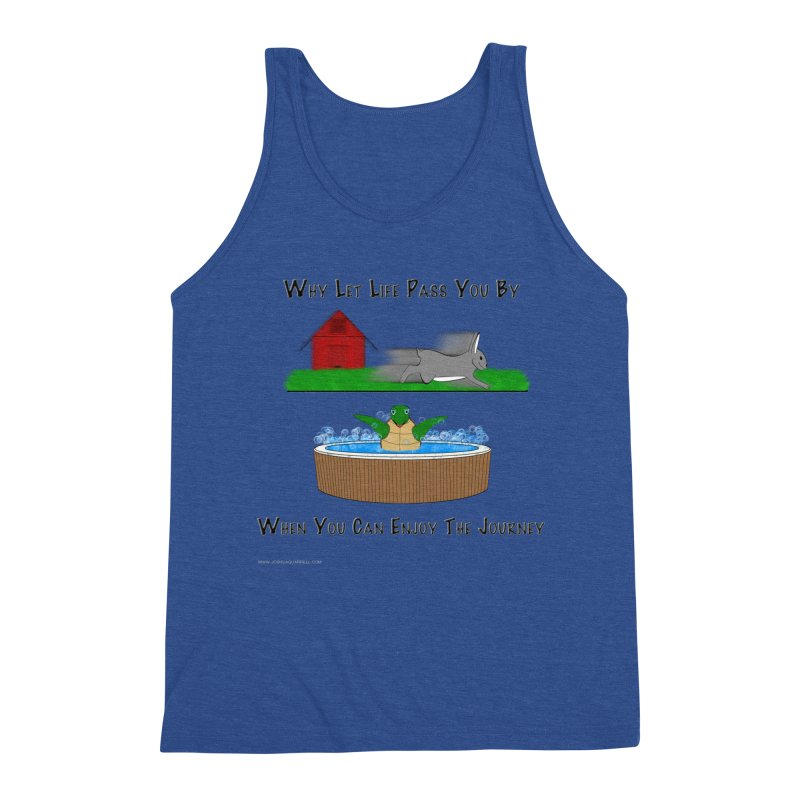 It's About The Journey Men's Tank by Every Drop's An Idea's Artist Shop