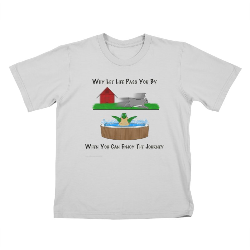 It's About The Journey Kids T-Shirt by Every Drop's An Idea's Artist Shop