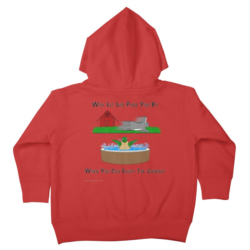 It's About The Journey Kids Toddler Zip-Up Hoody by Every Drop's An Idea's Artist Shop