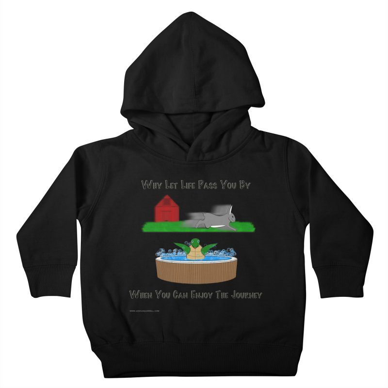 It's About The Journey Kids Toddler Pullover Hoody by Every Drop's An Idea's Artist Shop