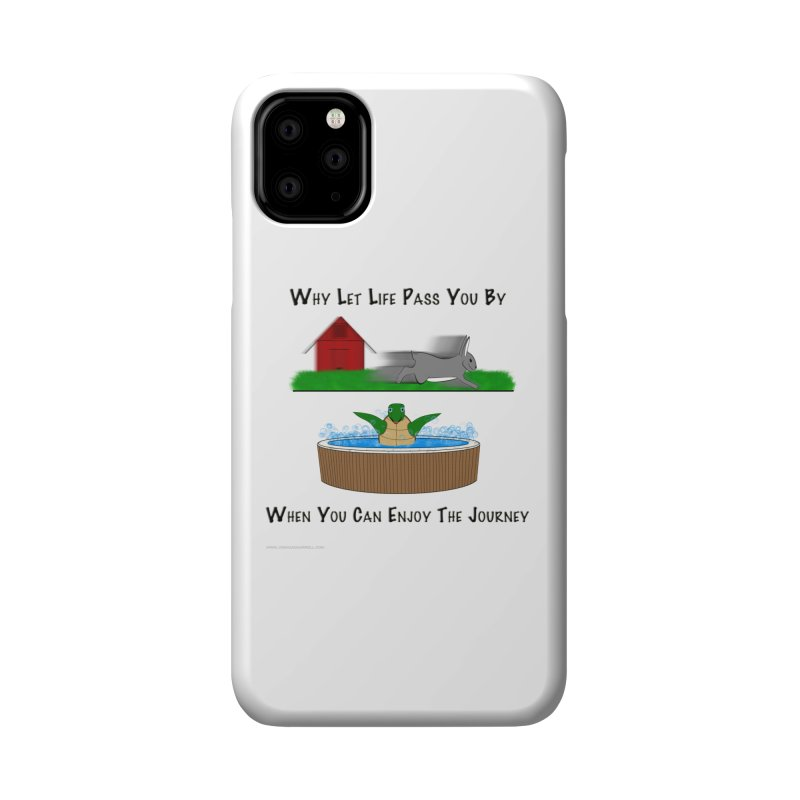 It's About The Journey Accessories Phone Case by Every Drop's An Idea's Artist Shop