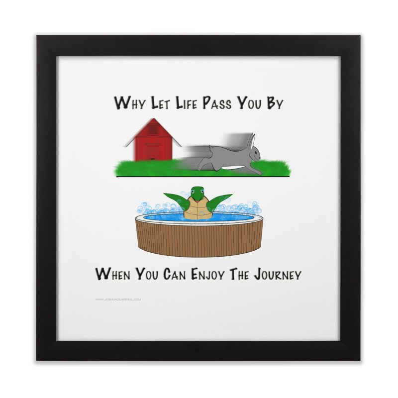 It's About The Journey Home Framed Fine Art Print by Every Drop's An Idea's Artist Shop