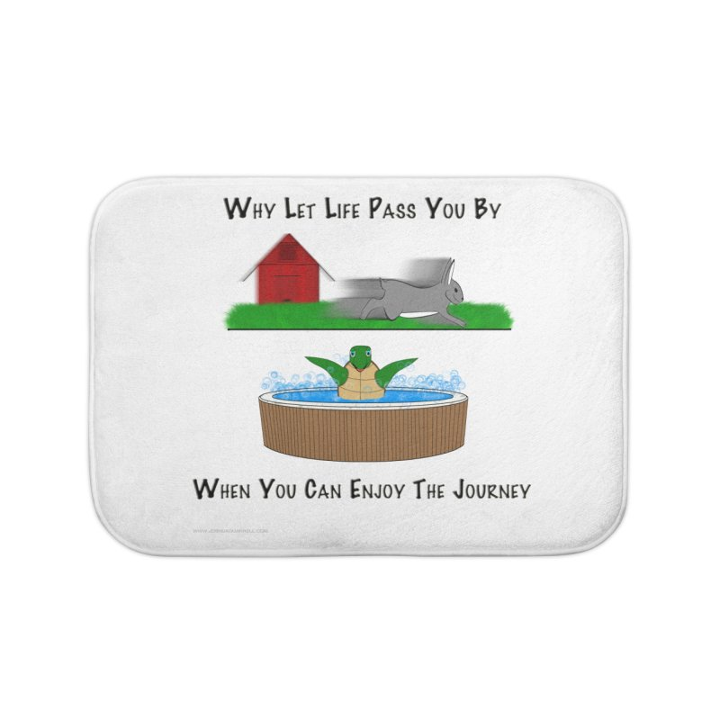 It's About The Journey Home Bath Mat by Every Drop's An Idea's Artist Shop