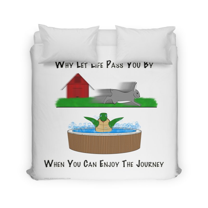 It's About The Journey Home Duvet by Every Drop's An Idea's Artist Shop