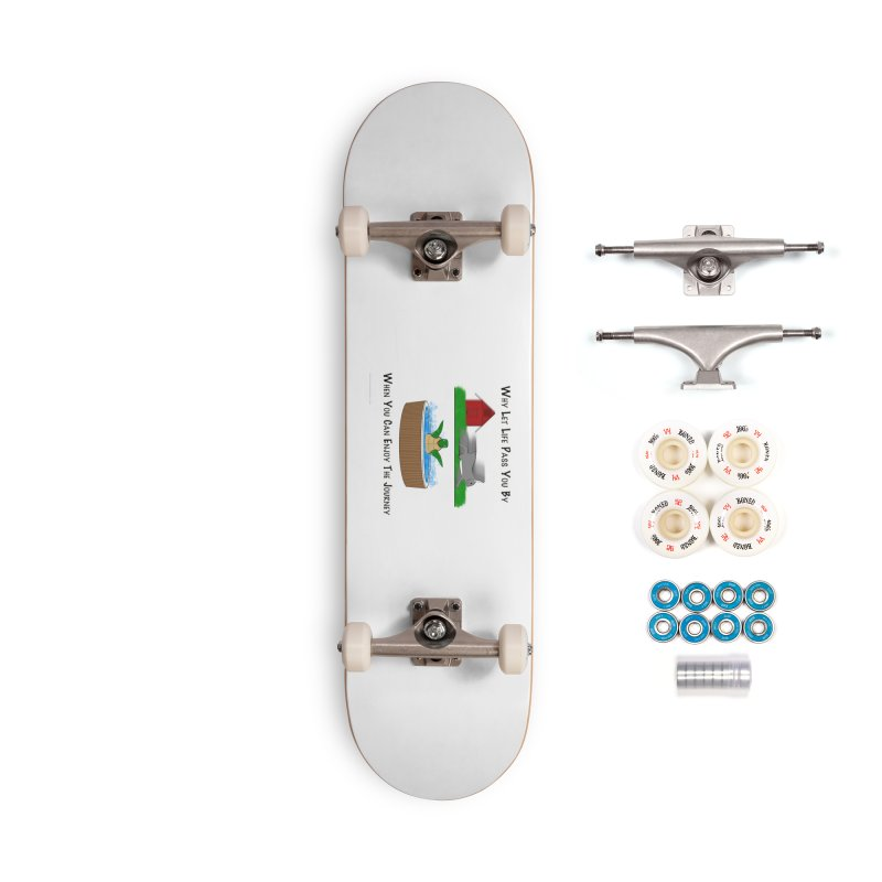 It's About The Journey Accessories Complete - Premium Skateboard by Every Drop's An Idea's Artist Shop
