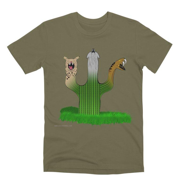 The Life of A Desert Men's Premium T-Shirt by Every Drop's An Idea's Artist Shop