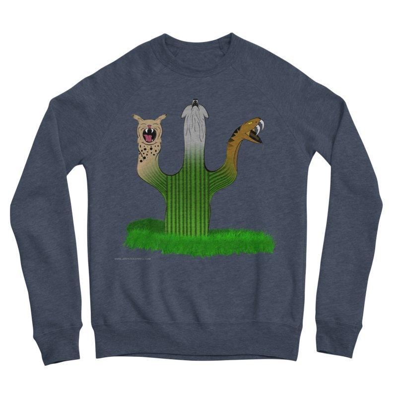 The Life of A Desert Men's Sponge Fleece Sweatshirt by Every Drop's An Idea's Artist Shop